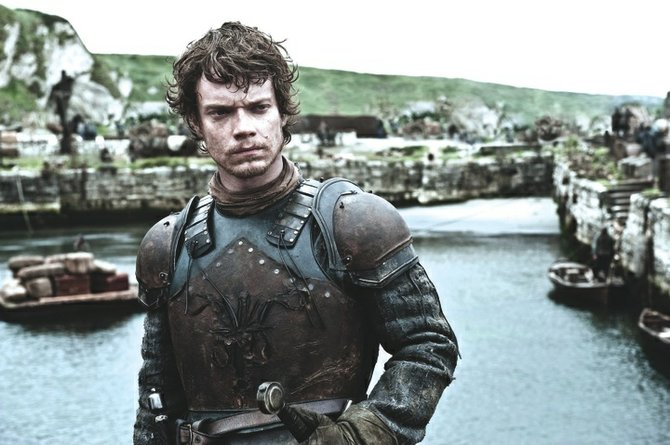 Game of Thrones star Alfie Allen as Theon Greyjoy