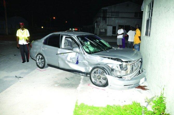 Police car involved in crash on way to murder scene | The Tribune