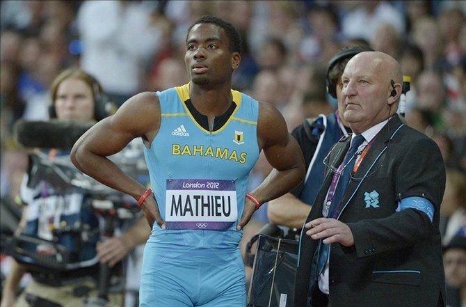 Michael Mathieu False start for Mathieu in 200m semi The Tribune