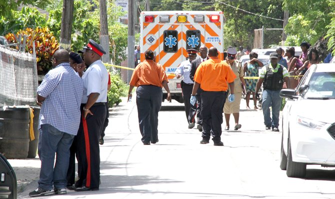 The shooting in Fowler Street