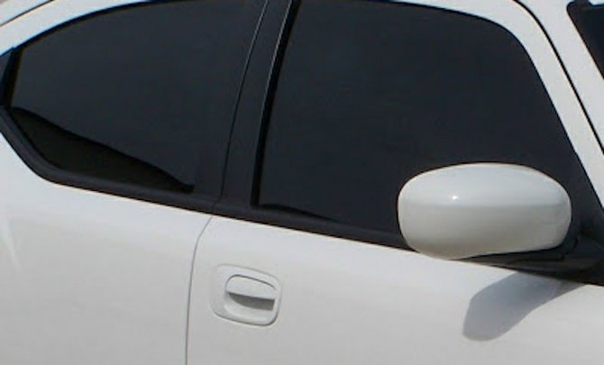Drivers face fines for tinted windows.