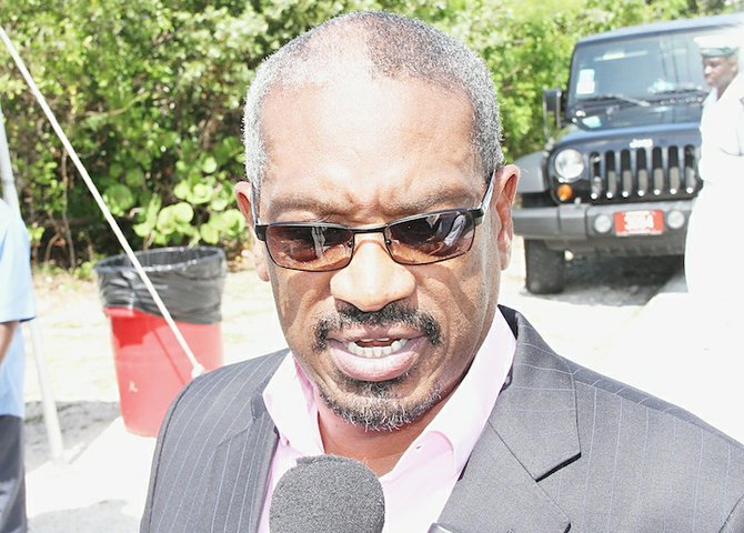 FNM Leader Hubert Minnis