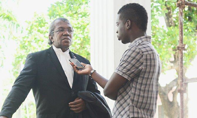 Attorney Geoffrey Farquharson speaks exclusively to Tribune journalist Lamech Johnson.