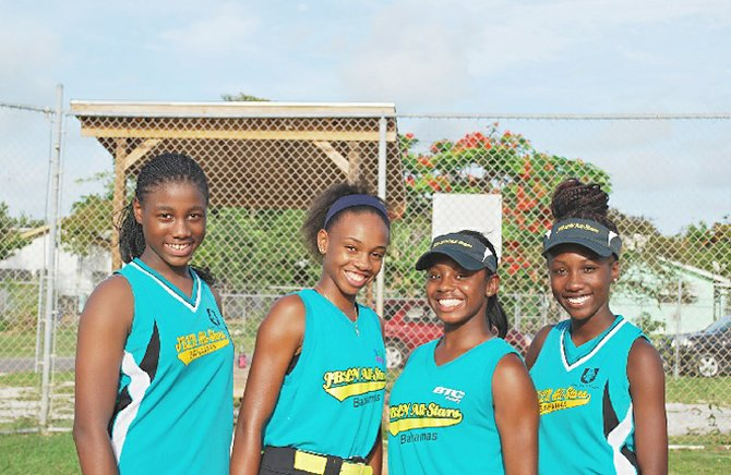 KENDALIA Turner, Kevique Ferguson, Chandra Mackey and Kechelle Robinson are all headed off to school in the United States on athletic scholarships, thanks to their involvement in the Junior Baseball League of Nassau girls' softball programme.