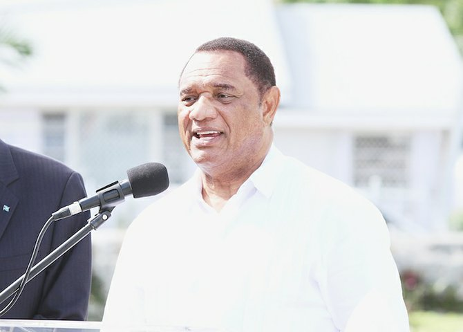 Prime Minister Perry Christie
