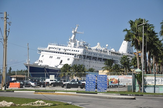 Bahamas Celebration Cruise Ship Runs Aground No Danger