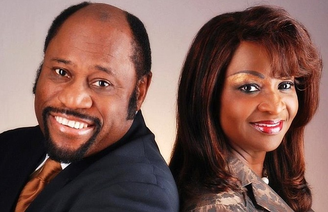 Dr Myles Munroe and his wife Ruth.