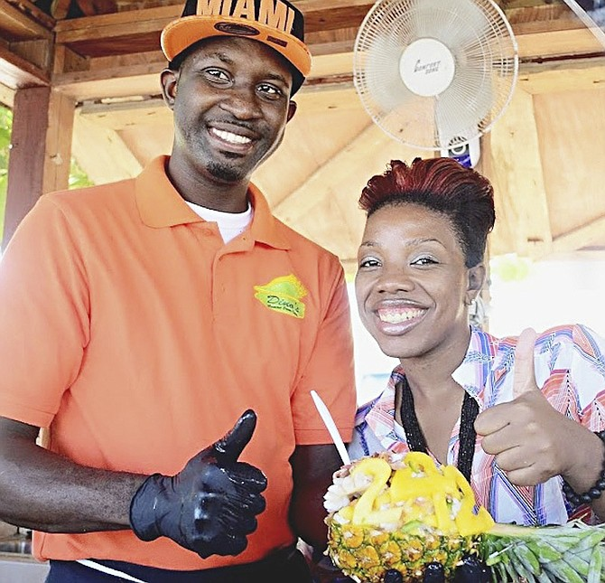 Happy Foods 242 host Sasha Lightbourne and her team explore the kitchens of the Bahamas on their popular web show.