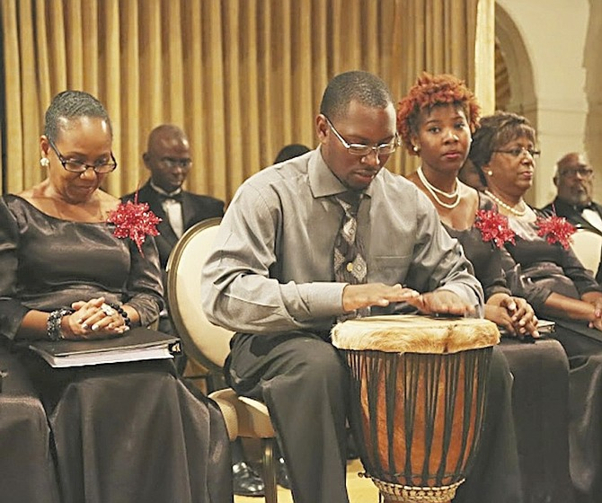 Percussionist Gillard Louis, who has performed with the orchestra at the famed Lincoln Centre in New York, will be a special guest at this year's Christmas concert.