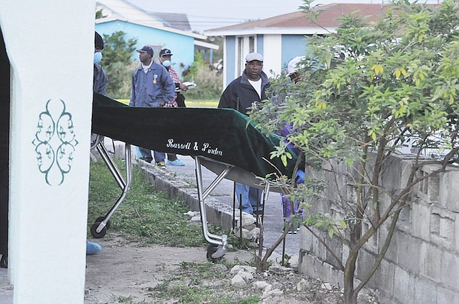 The body of Sundiata Omowale Karamo is taken from the scene.