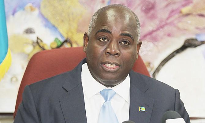 Deputy Prime Minister Philip 'Brave' Davis.