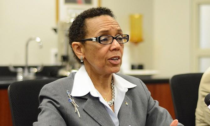 Former Attorney General Allyson Maynard-Gibson.