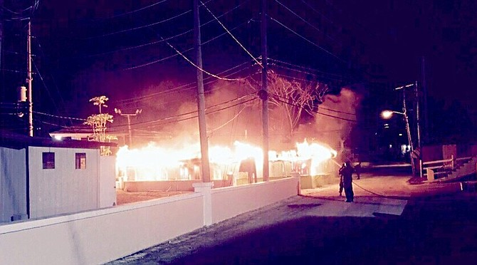 No fire truck as George Town Straw Market burns   The Tribune