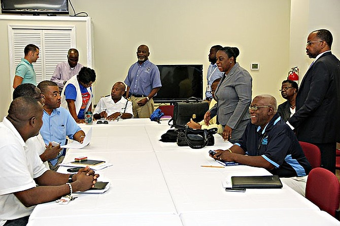 Members of the National Disaster Consultative Committee.