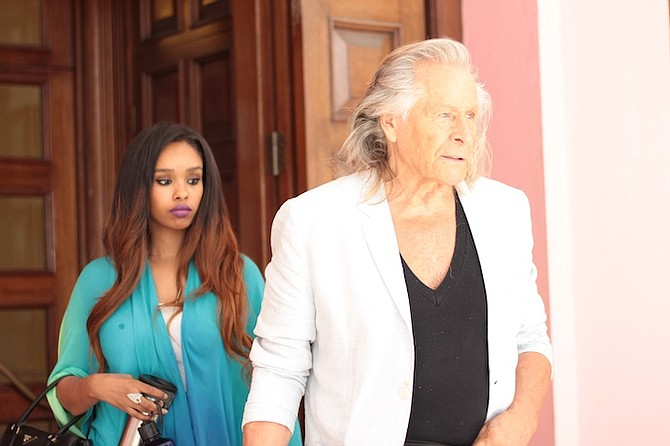 PETER Nygard leaves the Supreme Court on Friday afternoon. 
