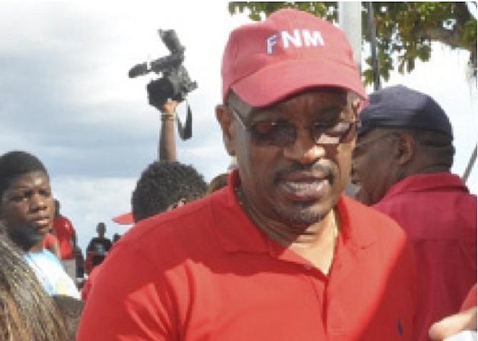 FNM Leader Hubert Minnis