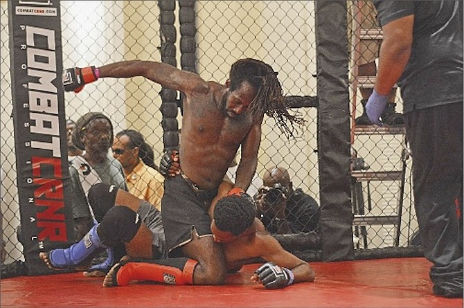 FIGHTERS square off Saturday night in the Bahamas Open Martial Arts Championships Cage Fight 2: Revenge at the British Colonial Hilton.