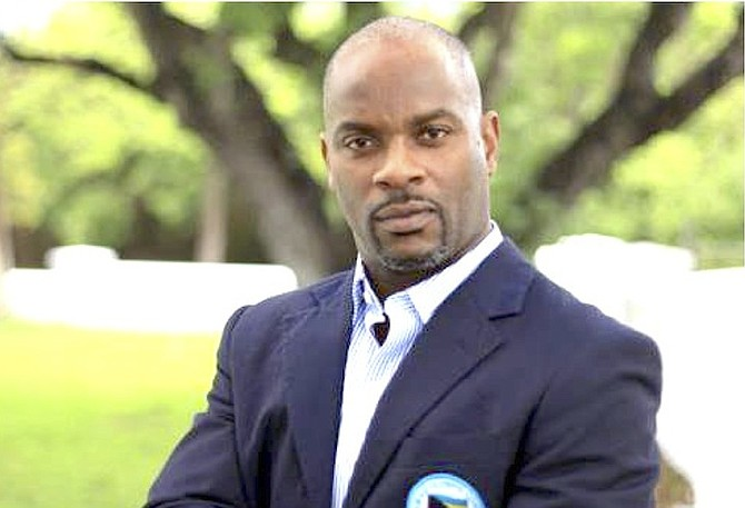 Iram Lewis, the new president of the Grand Bahama Amateur Athletic Association.