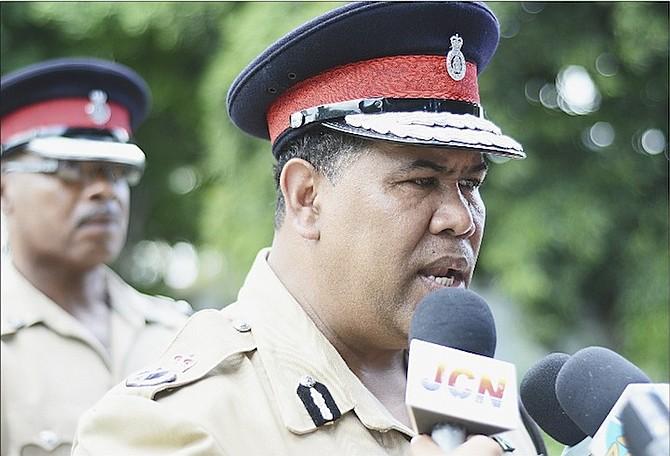 Then Police Commissioner Ellison Greenslade