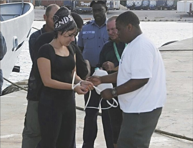 Cuban migrants in custody after being found at Anguilla Cay.