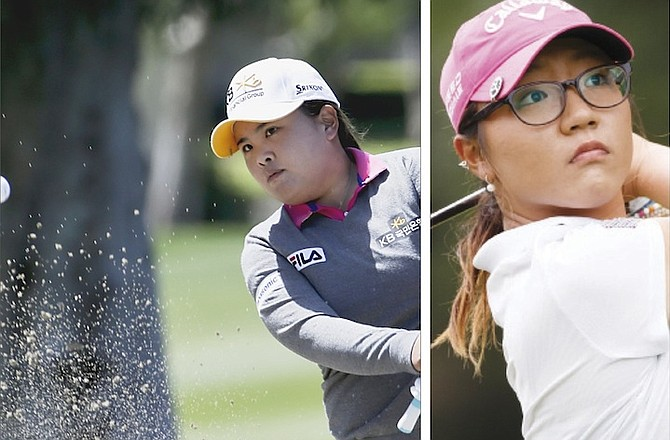 LPGA TOUR: Heading the list of golfers is top ranked Lydia Ko (right) of New Zealand and Inbee Park (left), of South Korea. (AP)