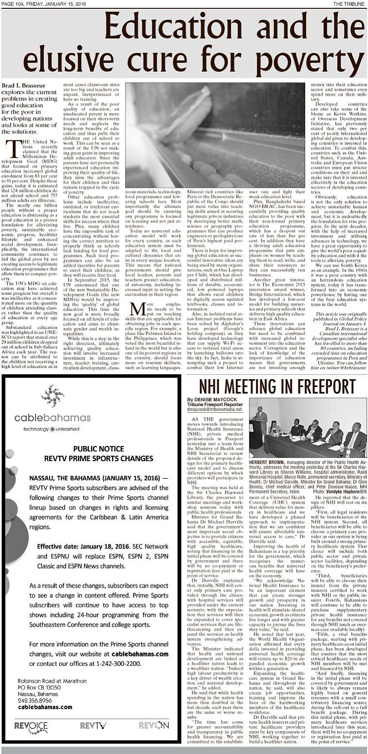 01152016 EDITION | The Tribune