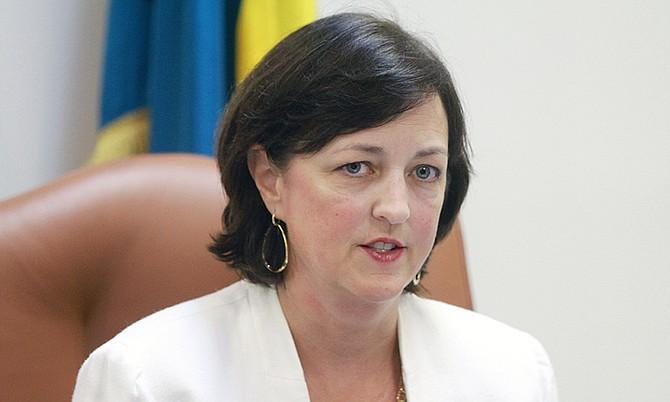 US Chargé d'Affaires Lisa Johnson