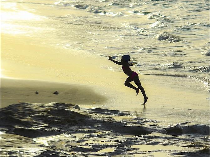 The Girl Who Dances With The Sea. Photo: Alessandro Sarno