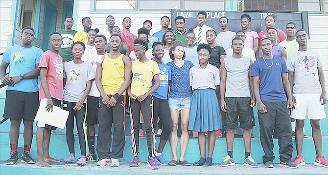 CARIFTA athletes met with the management team at the Thomas A Robinson Track and Field Stadium yesterday when they were given all the necessary information needed to make the trek to the 2016 CARIFTA Games in St George's, Grenada, over the Easter holiday weekend.