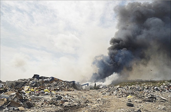 There have been recurring fires at the New Providence landfill.