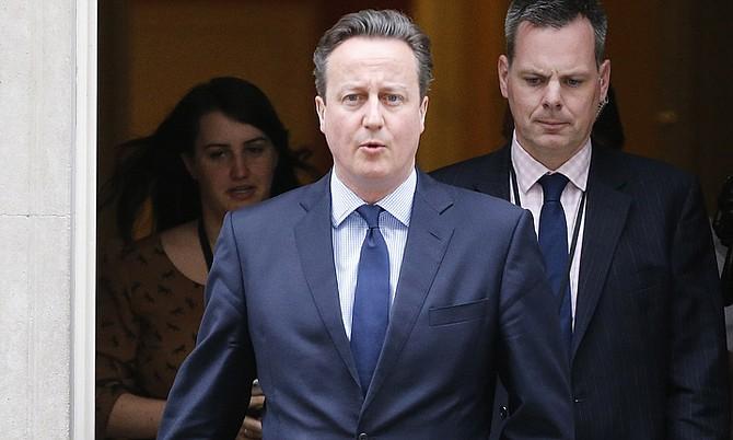 British Prime Minister David Cameron. (AP)