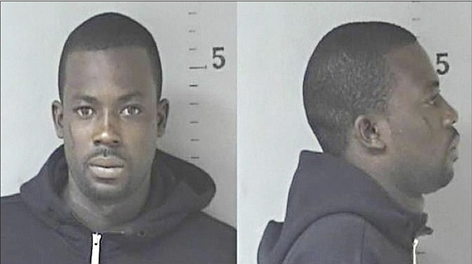 Jeffrey King, who was accused of robbery at the home of Deputy Prime Minister Philip 'Brave' Davis.