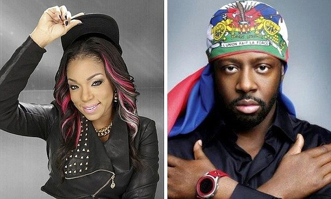 Destra and Wyclef Jean.