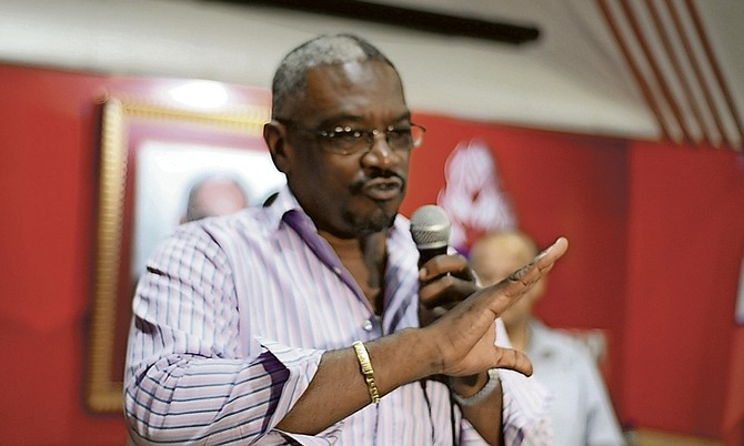FNM leader Dr Hubert Minnis.