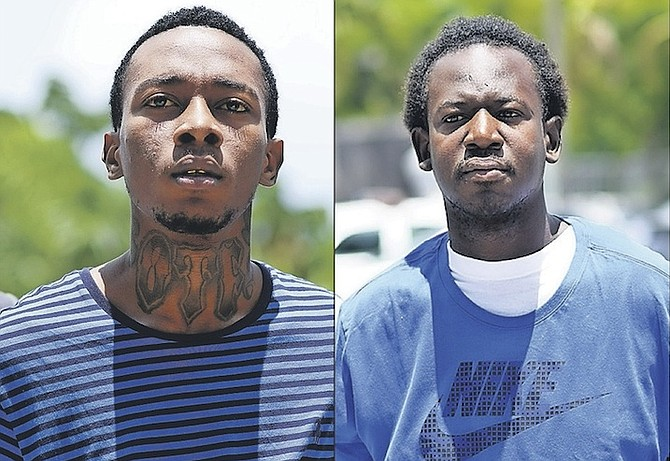 two men accused of murders the tribune