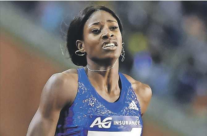 FAST TRACK: Shaunae Miller won the 400 metres in the Prefontaine Classic at Hayward Field in Eugene, Oregon, on Saturday. The top quartermiler is ready to take on the world when she heads to the 2016 Olympic Games in Rio de Janeiro Brazil in August.