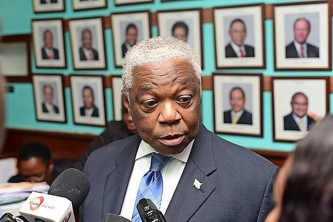 National Security Minister Dr Bernard Nottage.