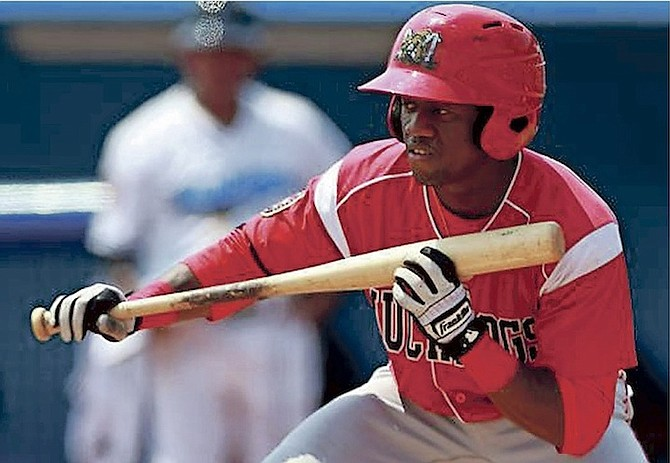 ANFERNEE SEYMOUR, playing for the Greensboro Grasshoppers, blasted the first home run of his professional career in his team's 10-7 win over the Rome Braves Saturday night at NewBridge Bank Park in Greensboro, North Carolina.