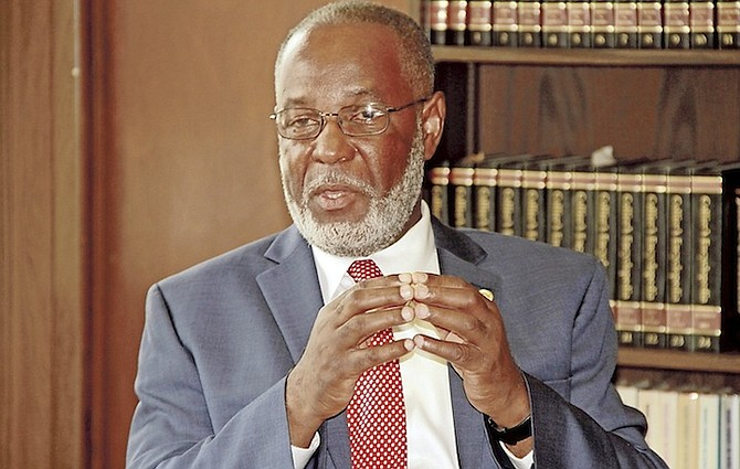 Haitian Ambassador Jean Victor Geneus.
