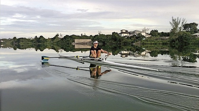 Eighteen-year-old William Stanhope, of Nassau, arrived in Rotterdam, The Netherlands, last week to prepare for racing at the 2016 World Rowing Junior Championships.