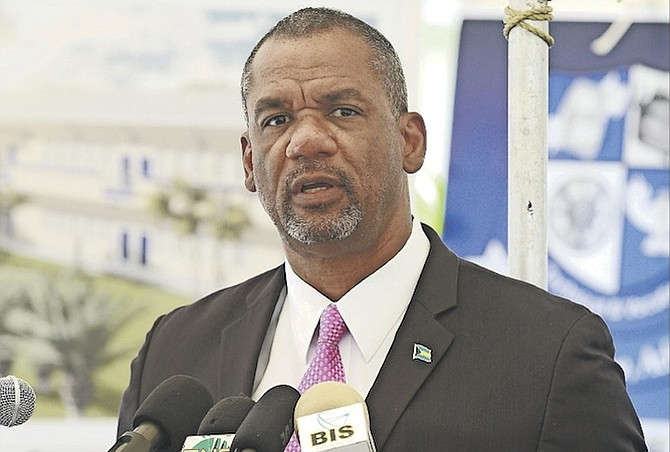 Minister of Education Jerome Fitzgerald.