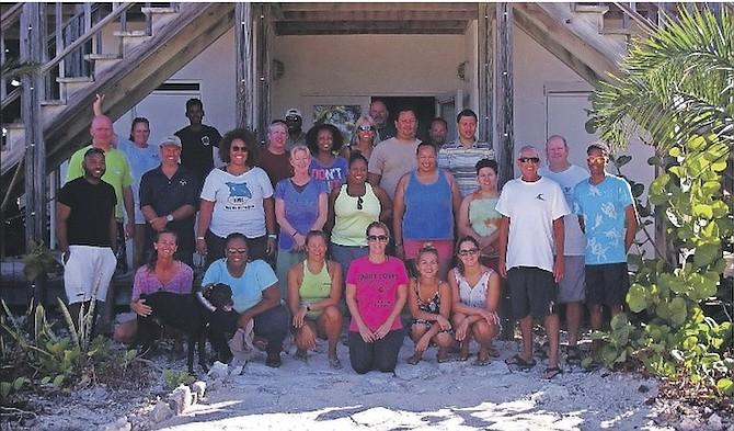 Workshop participants at Cape Eleuthera Institute.