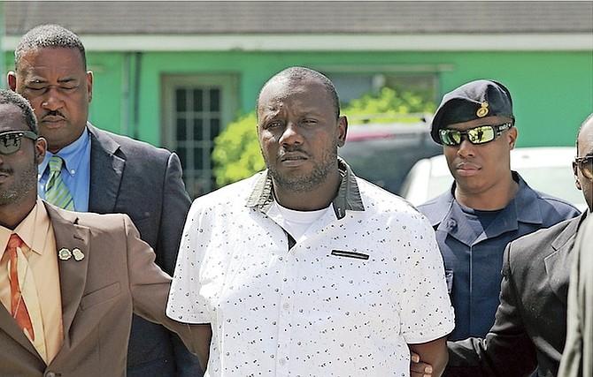 Omar Roberts at an earlier court appearance. Photos: Tim Clarke/Tribune Staff