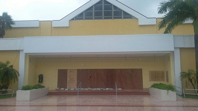 The Kendal G L Isaacs Gymnasium has been added as a hurricane shelter on New Providence