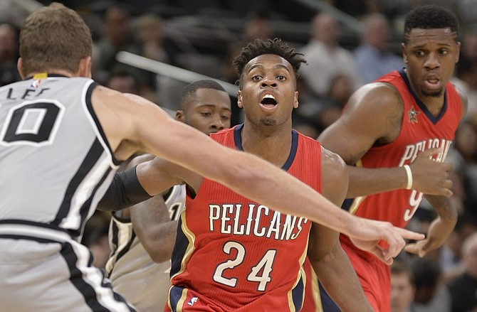 brand new a7c20 a5b85 Buddy Hield scores eight points as Pelicans beaten again ...