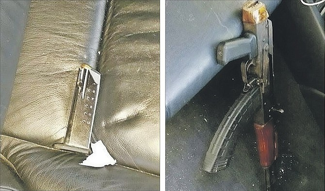 Illegal firearms seized after high-speed chase | The Tribune