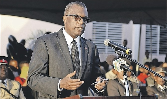 PLP Chairman Fred Mitchell.