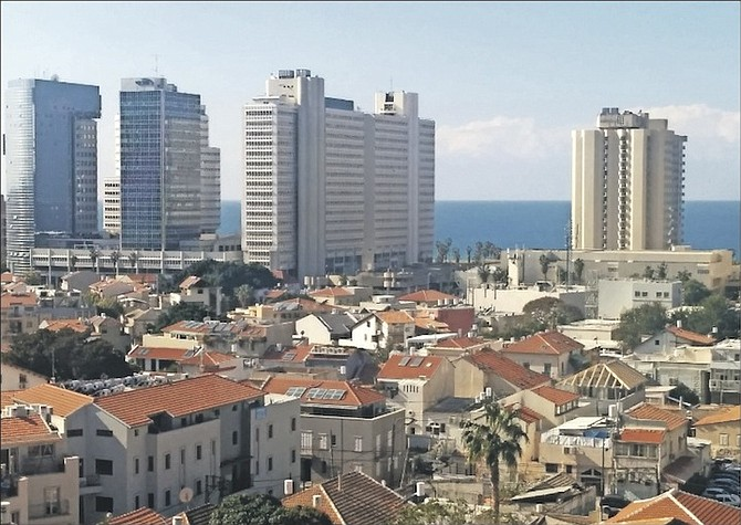 The Tel Aviv skyline is testament to Israel's modernisitc approach.