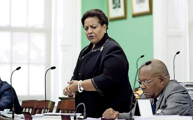 Loretta Butler-Turner, leader of Opposition in the House of Assembly.