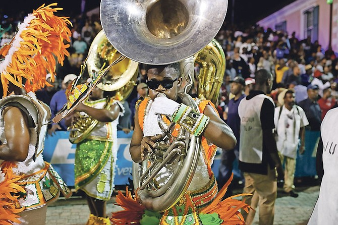 Roots were declared the official winner of the New Year's Day parade.